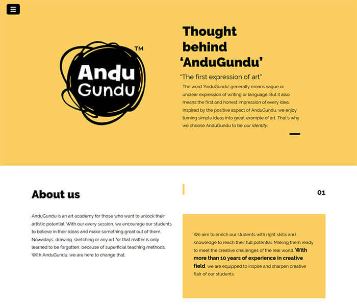 andugundu Web development and social media